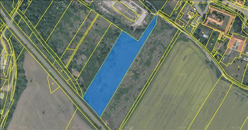 Pozemek 14.335 m2 pro možnou výstavbu RD dle ÚP, Mariánské Radčice, okres Most