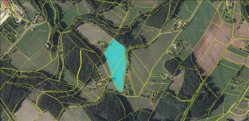 Pozemek 17.090 m2 s možností výstavby, Rtyně v Podkrkonoší, okres Trutnov