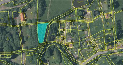 Pozemek 1.032m2, Krásný Les u Frýdlantu, Krásný Les, okres Liberec