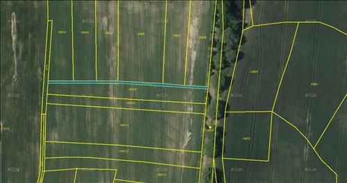 Orná půda 294m2 a trvalý travní porost 1449m2, Jankov, okres Benešov, celkem 1.743m2