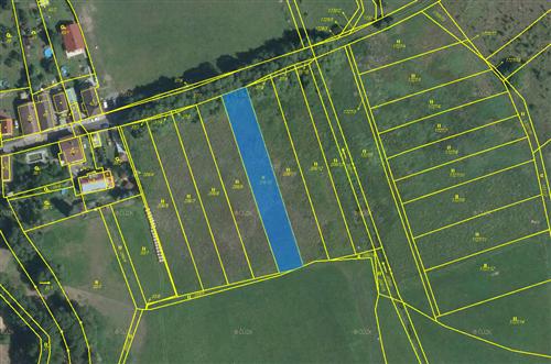 Trvalý travnatý porost 1582 m2 , k.ú. Bezdědice u Hostomic, Hostomice, okres Beroun