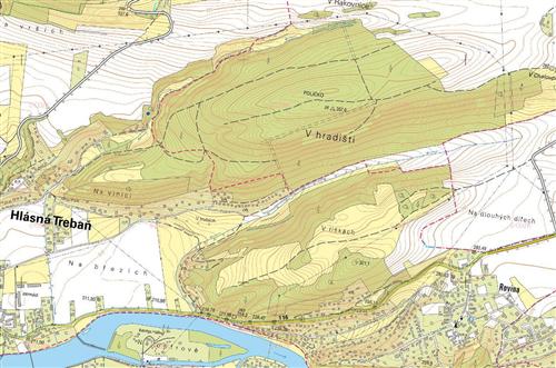 Pozemky 542 m2, Hlásná Třebaň, okres Beroun
