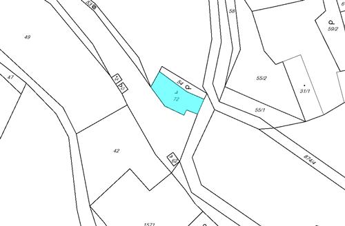 Pozemek 229 m2, k.ú. Mělnice, obec Hostouň, okres Domažlice