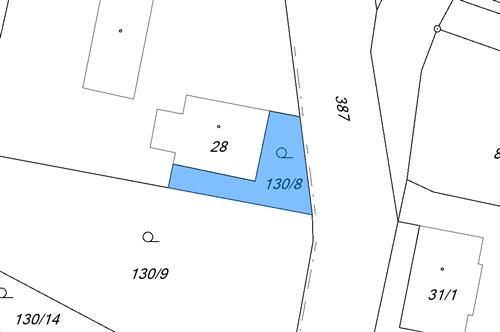 Zahrada 410 m2, k.ú. Chotěnov u Mariánských Lázní, Mariánské Lázně, okres Cheb