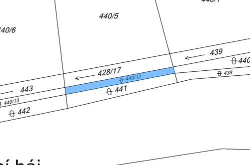 Orná půda 1171 m2, k.ú. Svrkyně, okres Praha-západ