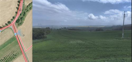 Orná půda 6165m2, k.ú. Soběsuky, okres Kroměříž