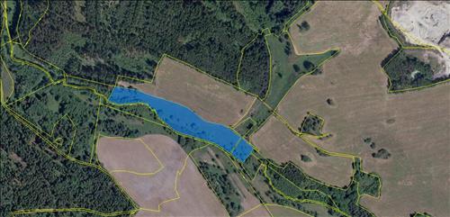Pozemek p.č. 449/3 v k.ú. Lipná u Hazlova, obec Hazlov, okres Cheb o celkové ploše 21743m2