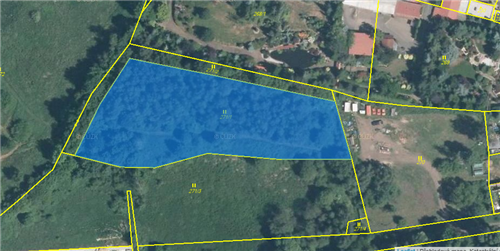 Pozemek 4875m2, k.ú. Drahůnky, okres Teplice