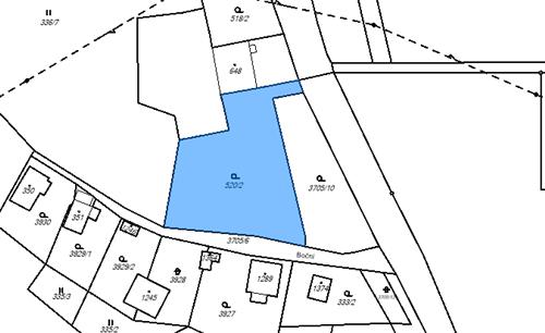 Pozemek 2477m2, k.ú. Hranice u Aše, okres Cheb