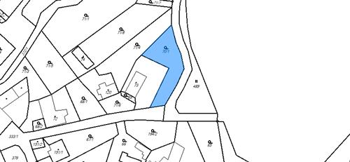 Stavební pozemek 627m2, k.ú. Horní Dlouhá Loučka, okres Olomouc