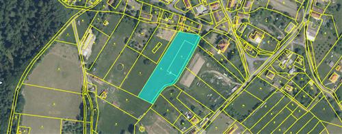 Pozemek 5809 m2, k.ú.Krutěnice, okres Klatovy