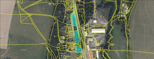 Pozemek Břidličná o celkové ploše 2072 m2, k.ú. Vajglov, okres Bruntál