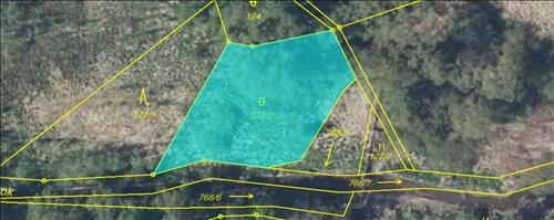 Pozemek o výměře 1117 m2, k.ú. Stará Dobev, okres Písek