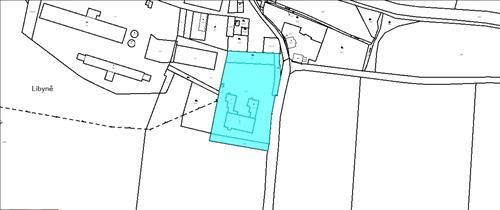 Pozemek ke komerčnímu využití, plocha pozemku 8.620m2, katastrální území Libyně, okres Louny