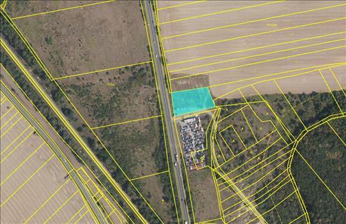 Pozemek na okraji Brna při rychlostní komunikaci na Svitavy 2830m2, Kuřim, Brno-venkov