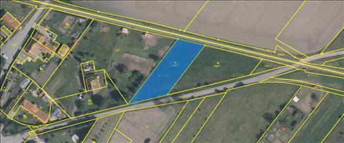 Stavební pozemek 1500m2, k.ú. Velký Borek, okres Mělník