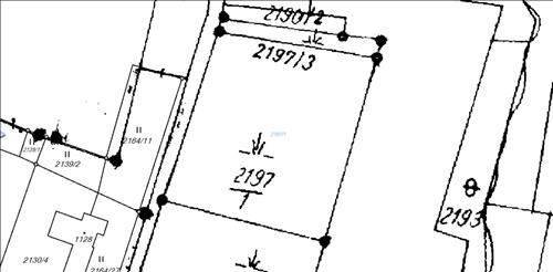 Pozemek 2516m2, katastrální území Písek u Jablůnkova, okres Frýdek - Místek