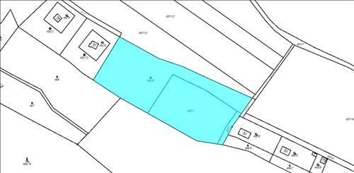 Pozemek 6481m2, kat. území Ujkovice, okres Mladá Boleslav
