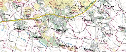 Pozemek 6.122m2, k.ú. Třebenice, okres Litoměřice