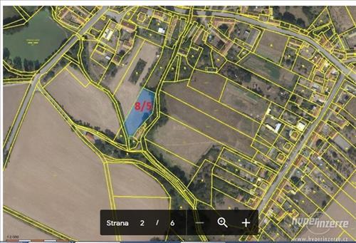 Prodej orné půdy, výměra 2.106m2, k.ú. Křepice, okres Znojmo