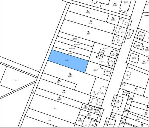 Stavební pozemek 1080 m2, k.ú. Šanov nad Jevišovkou, okres Znojmo
