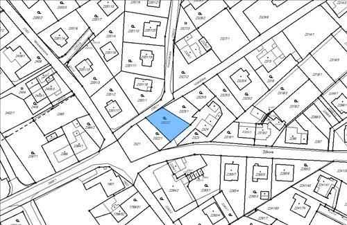 Stavební pozemek 445 m2, k.ú. Karviná - město, okres Karviná
