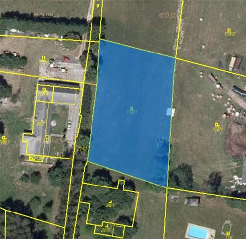Prodej pozemku vhodný k výstavbě farmy,  RD o výměře 8 557m2, nacházející se v okrese Trutnov, kat. území Horní Brusnice