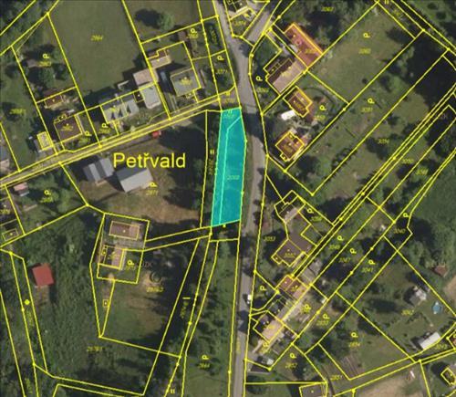 Prodej pozemku o výměře 628m2, vhodný ke stavbě chatky nebo garáže, nacházející se v okrese Karviná, k.ú. Orlová