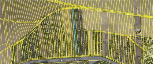Prodej pozemku 917m2, k.ú. Bučovice, okres Vyškov