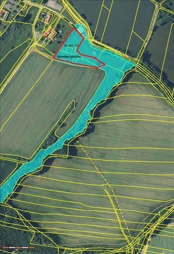 Prodej souboru pozemků o výměře 39.934m2, k.ú. Polom u Hranic, okres Přerov