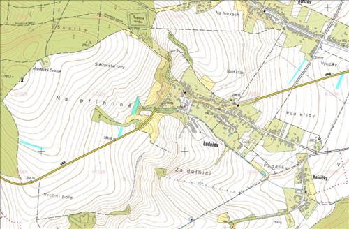 Prodej orné půdy o výměře 9.281m2, k.ú. Ludéřov, obec Drahanovice, okres Olomouc