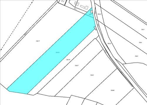 Prodej stavebního pozemku o výměře 6.846m2, k.ú. Choryně, obec Choryně, okres Vsetín