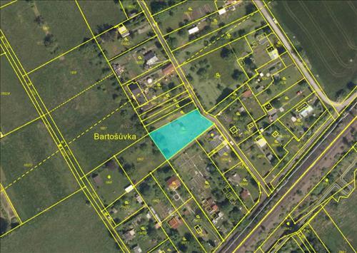 Prodej stavebního pozemku o výměře 1000m2, k.ú. Dolní Suchá, obec Havířov, okres Karviná