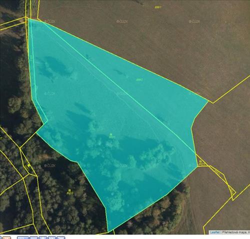 Prodej souboru pozemků o výměře 20.301m2, k.ú. Kladná Žílín, okres Zlín