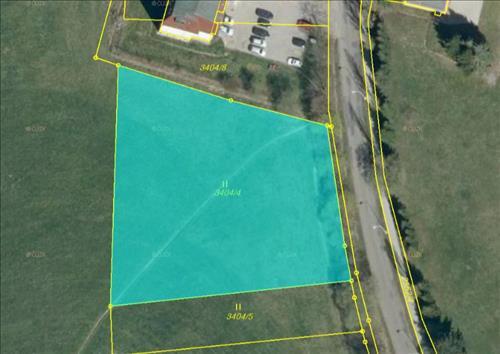 Prodej pozemku o výměře 3.192m2, k.ú. Horní Slavkov, okres Sokolov