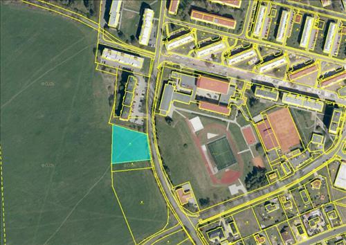 Prodej stavebního pozemku o výměře 3.192m2, k.ú. Horní Slavkov, okres Sokolov