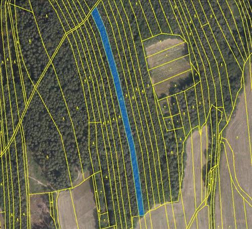 Prodej lesních pozemků o výměře 8811m2, k.ú. Sehradice, okres Zlín