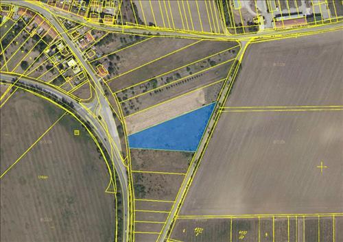 Prodej stavebního pozemku o výměře 6986m2, k.ú. Nosislav, okres Brno-venkov