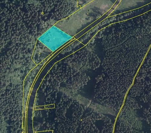 Prodej trvalého travního porostu o výměře 4.955m2, k.ú. Radvanov, okres Sokolov