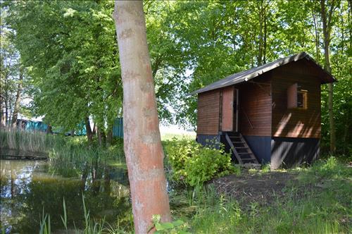 Prodej rybářské chaty, č.e. 40, v lese u vody, k.ú. Starý Kolín, okres Kolín