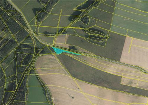 Prodej souboru pozemků o výměře 3.441m2, k.ú. Kunín, okres Nový Jičín