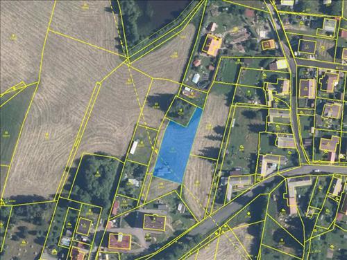 Prodej stavebního pozemku o výměře 1.330m2, k.ú. Láz, okres Příbram