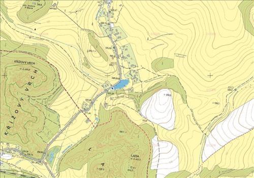 Prodej stavebního pozemku o výměře 7.646m2, k.ú. Zdoňov, okres Náchod