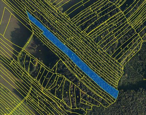 Prodej lesního pozemku o výměře 10.284m2, k.ú. Vrbětice, obec Vlachovice, okres Zlín