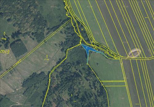 Prodej lesních pozemků o výměře 3.540m2, k.ú. Police u Valašského Meziříčí, okres Vsetín