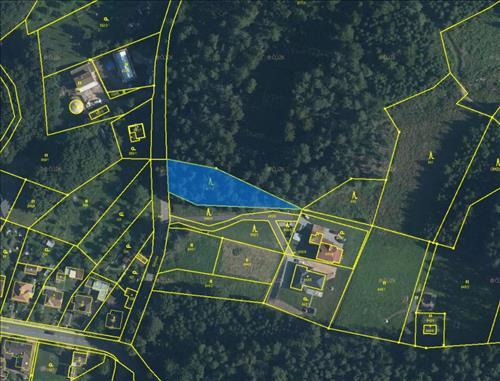 Prodej lesního pozemku o výměře 1.254m2, k.ú. Velíková, okres Zlín