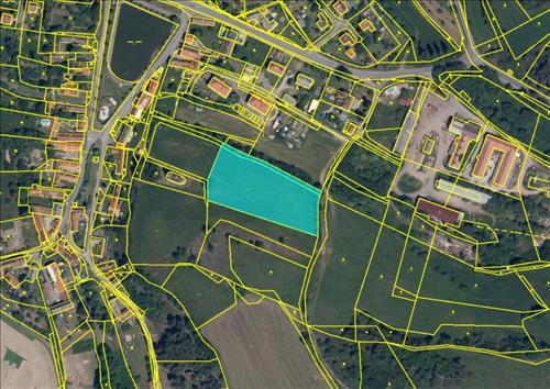Prodej stavebních pozemků o výměře 6.686m2, k.ú. Milešov nad Vltavou ,okres Příbram