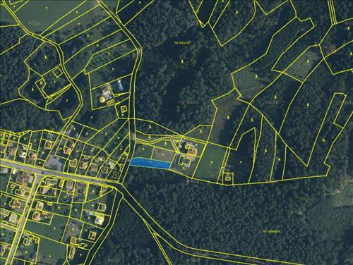 Prodej pozemku o výměře 907m2, trvalý travní porost, k.ú. Velíková, obec Zlín, okres Zlín