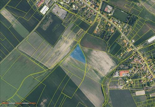 Prodej stavebního pozemku o výměře 7.997m2, k.ú. Záryby, okres Praha- východ