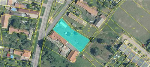 Prodej stavebního pozemku o výměře 1.166m2, p.č. 90/3, veden jako zahrada, k.ú.  Hlavečník, okres Pardubice